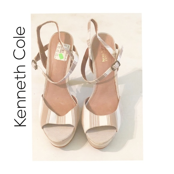 Kenneth Cole Reaction Shoes - Kenneth Cole Strappy Heel Sandal. NWOT!